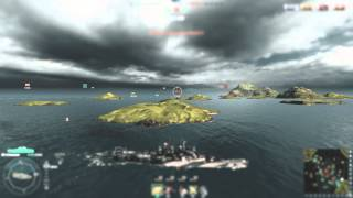 World of Warships - Cleveland with Aslains-Mod Patch 0.3.1 ( TiltShift Ed. )