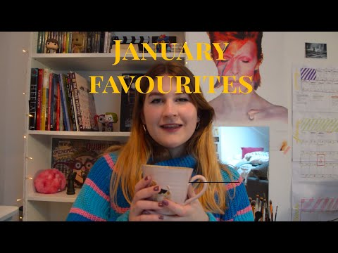 JANUARY FAVOURITES | Make-up, music & my new office chair