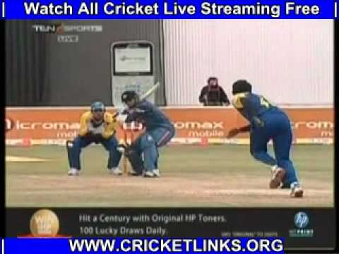 India v Sri Lanka Tri-Series 2nd ODI - India Batting Part 01