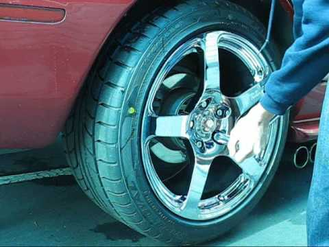 How To Install 1 Quot Wheel Spacers And New Wheels Youtube