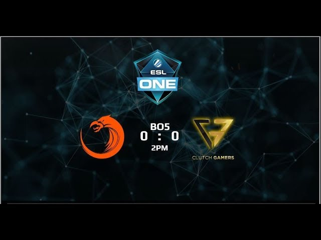 TNC Pro Team vs Clutch Gamers Game 5 Grandfinals (BO5) (Part 2) ESL One Genting