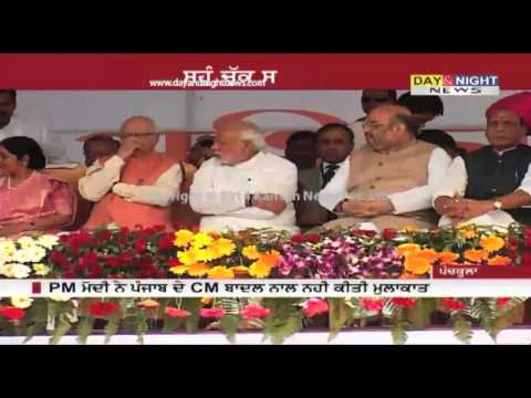 PM Narendra Modi did not meet CM Badal at Khattar's swearing-in