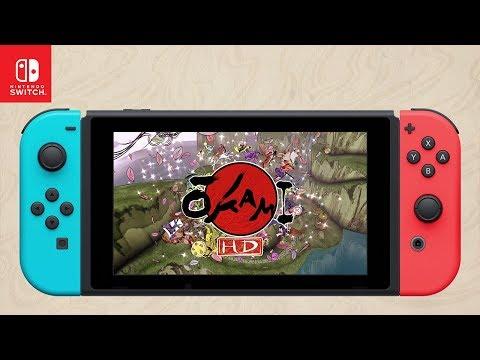 Okami HD - Nintendo Switch Trailer