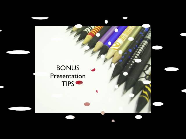 Bonus Tips - Help Them Remember Your Message