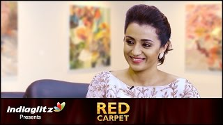 Trisha's open talk about relationships, family & career| Interview, Red Carpet with Sreedhar Pillai