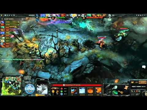 Quality NewBee vs Vici Gaming Game 2 Grand Final ESL One CN Qualifier TobiWanDOTA  Clairvoyance