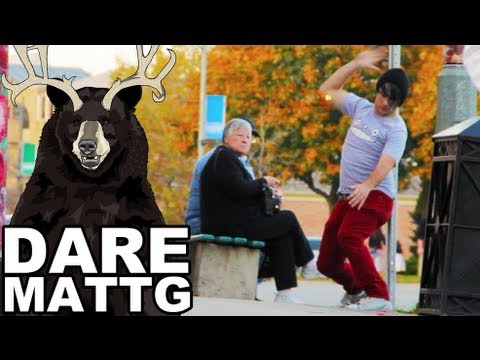 Dare MattG - 44 (QWOP, Public Trolling: I Forgot How To Sit, Larping)
