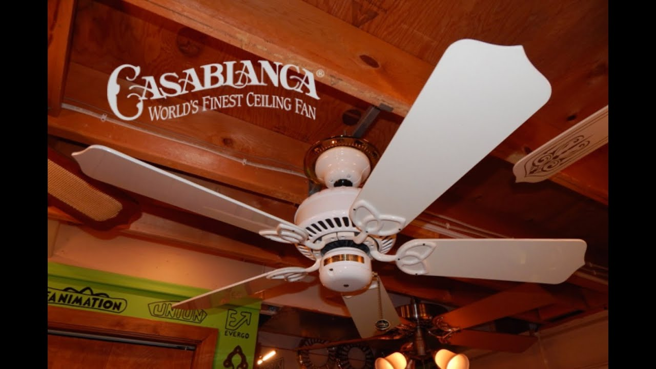 Casablanca Lady Delta Ceiling Fan Hd Remake Youtube