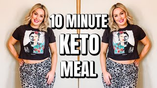 10 MINUTE LOW CARB MEAL / WHAT'S FOR DINNER 2020 / KETO PASTA RECIPE / DANIELA DIARIES
