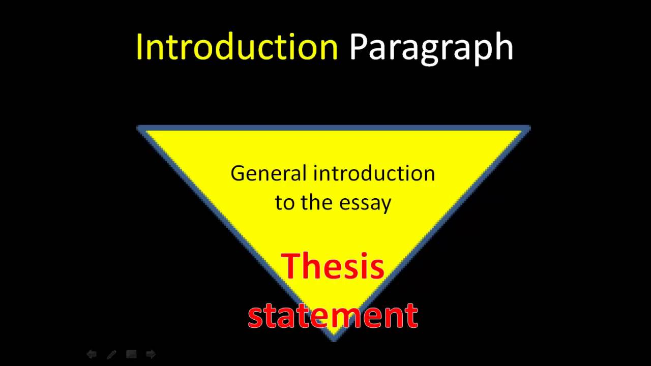 the five paragraph essay youtube