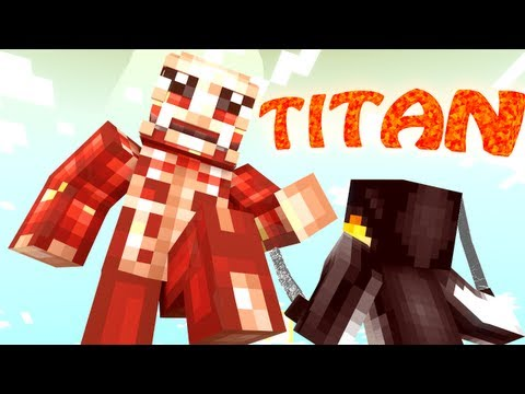 Titan Bosses Mod: Minecraft Attack on Titan Mod Showcase!