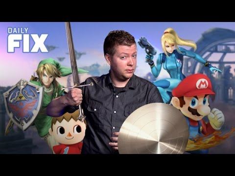Huge Smash Bros Reveals & PS4 Updates Soon - IGN Daily Fix