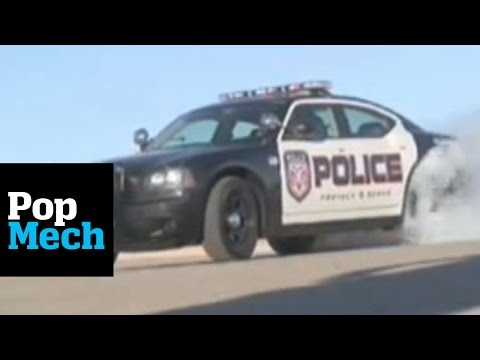 Dodge Charger Police Package: Doing Donuts, Not Eating Them
