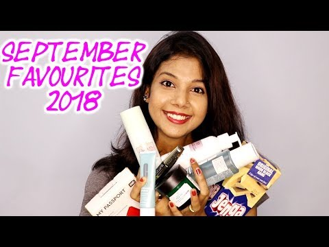 SEPTEMBER FAVOURITES 2018 | KRISHNA ROY MALLICK