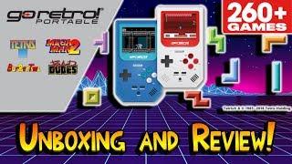 Retro-Bit Go Retro! Portable Gaming Handheld Review! 2018 Holiday Gift Idea?
