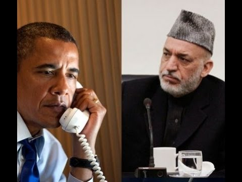 Karzai Refused to Meet Obama At Bagram Airbase Says US AMB