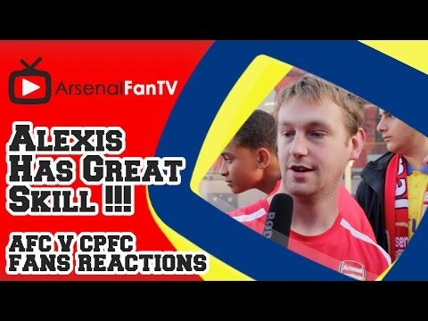 Alexis Sanchez Has Great Skill !!! - Arsenal 2 Crystal Palace 1