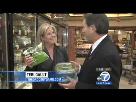 How to Save Big Money on Groceries - ABC 7 Los Angeles(TheGroceryGame.com/Teri Gault)