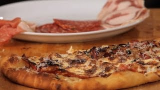 How to Make Meat Pizza Toppings | Homemade Pizza