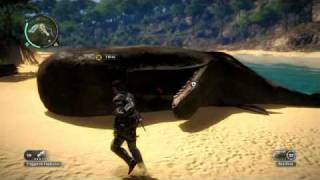 Just Cause 2: Beached Whale Easter Egg & Location