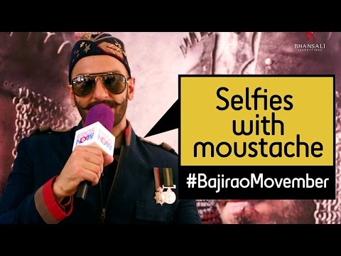 Enter The #BajiraoMovember Challenge With Ranveer Singh