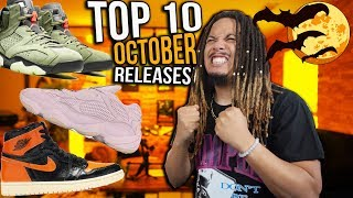 TOP 10 SNEAKER RELEASES FOR OCTOBER IN 2019 !!!