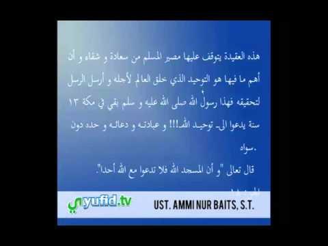 Ceramah Agama Dan Praktek Baca Kitab Kuning Gundul: Aqidah Muslim Sejati (#2):  Dahulukan Aqidah