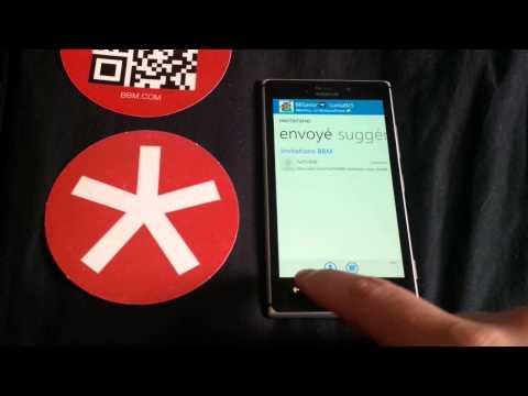 BlackBerry-FR: BlackBerry Messenger for Windows Phone (English)