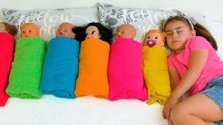 Alika Pretend Play with Dolls, Are you sleeping brother John by GLOBIKI