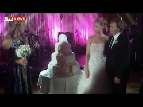 Maxim Afinogenov and Elena Dementieva's Wedding