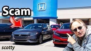 Here's How Honda Dealerships are Scamming You
