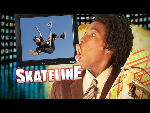 SKATELINE - Luan Oliveira, Shaun White, Daewon Song, Bouncing Balls and more...