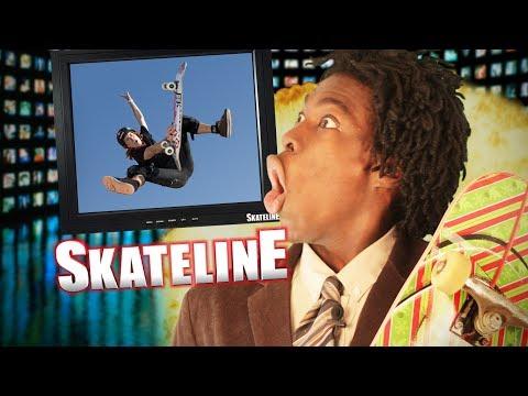 SKATELINE - Luan Oliveira, Shaun White, Daewon Song, Bouncing Balls and more...