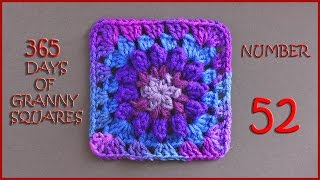 365 Days of Granny Squares Number 52