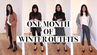 A MONTH OF (MILD) WINTER OUTFITS - 30 Outfit Ideas for Cool Weather (Minimal Style) | Mademoiselle