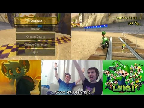 Mario Kart Wii - Wario's Gold Mine Glitch WR - 00:32.641 by MrBean35000vr!