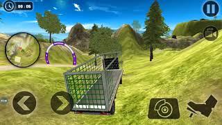 Wild Animal Transport Truck Simulator - Android Kids Game- Zoo Animal Transport Simulator Android