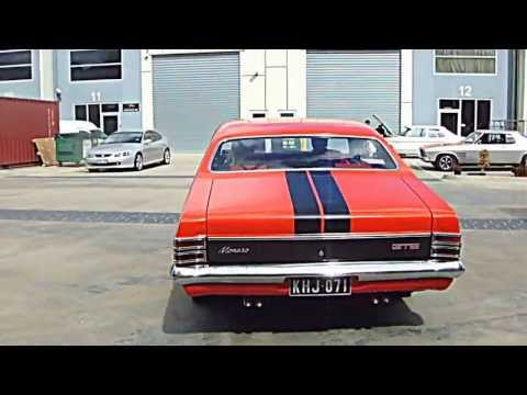 GM HOLDEN  monaro HT GTS 350 BATHURST SEBRING ORANGE