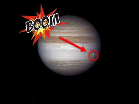 Amateur Astronomers Capture Footage Of A Space Rock Crashing Into Jupiter