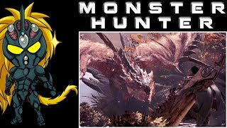 Monster Hunter World Let's Play Part 8 Trying To Hunt And Escorting The Researchers - (Denonu Plays)