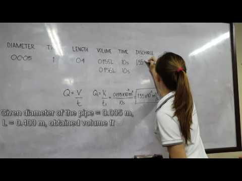 Friction Losses- 4CE-E Group 4