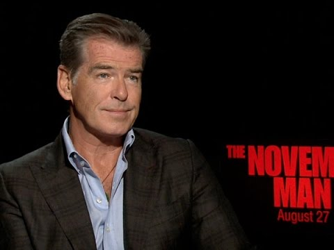 Pierce Brosnan Talks 'The November Man' and 'The Expendables 4'
