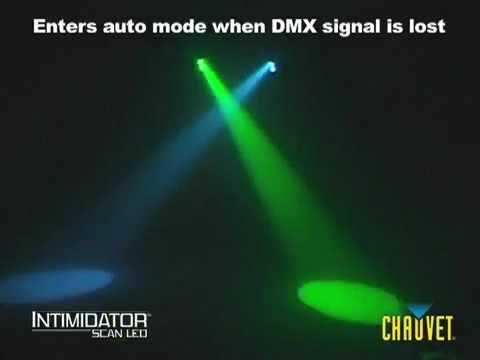 Chauvet Intimidator Scan LED lighting effect