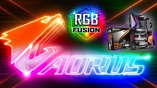 GIGABYTE App Center & RGB FUSION Update for RGB Motherboards (How To Use RGB Fusion Tutorial)