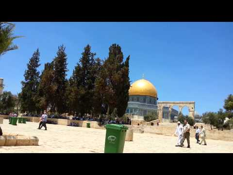 Al-Aqsa Mosque Azan آذان الأقصى 25.07.2014