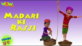 Madari ki Rassi - Motu Patlu in Hindi - 3D Animation Cartoon for Kids -As seen on Nickelodeon