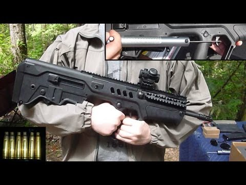IWI TAVOR SAR Initial Review & Shooting Impressions: IDF's Awesome Bullpup. Now in Civilian Flavor