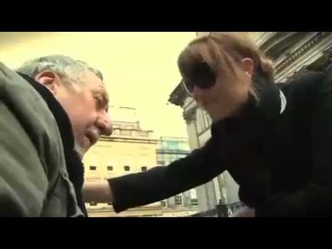 WOMAN helps HOMELESS Man *VERY CUTE*