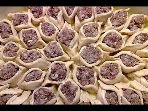 Манты в духовке, Турецкий рецепт.