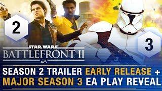 Final SOLO Season 2 Trailer Early Reveal + Clone Wars Season 3 EA Play Tease | Battlefront Update